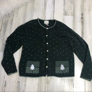 Christopher & Banks Christmas Sweater size large